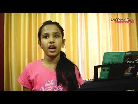 Testimonial of Students learning Piano in Lorraine Music Academy