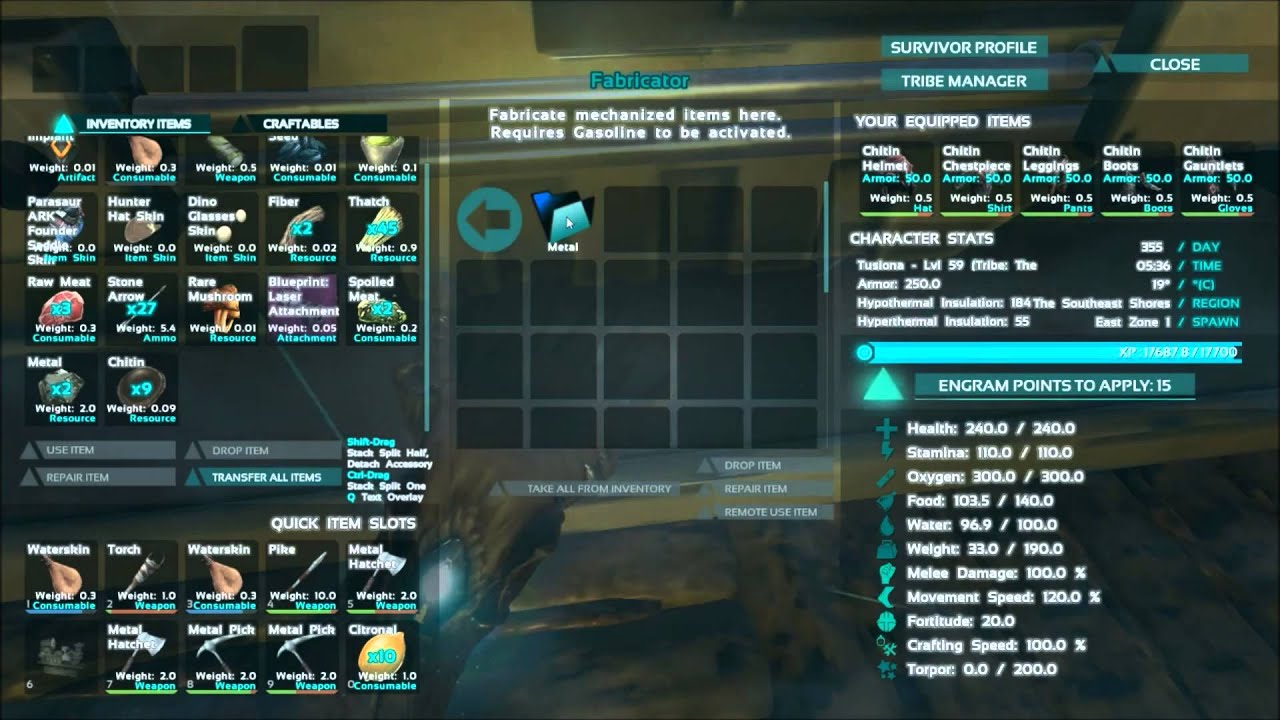 Ark survival evolved gameplay part 17 making the fabricator youtube ark survival evolved gameplay part 17 making the fabricator malvernweather Image collections