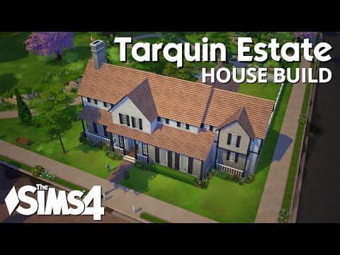 The Sims 4 House Building - Tarquin Estate