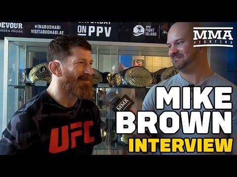 Mike Brown Talks Jorge Masvidal, Dustin Poirier and Amanda Nunes UFC 268 Title Fights, More
