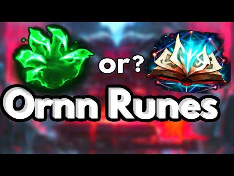 Ornn Runes Season 10