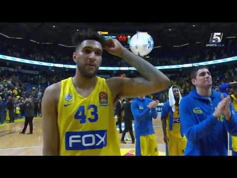 Euroleague Game 22: Maccabi FOX Tel Aviv 94 - Barcelona 82
