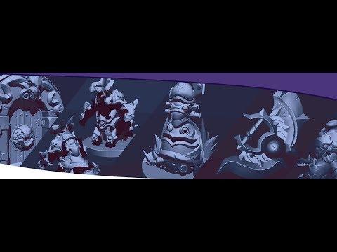 Making 3D game assets #Artstation #Zbrush #SubstancePainter #3DSMax