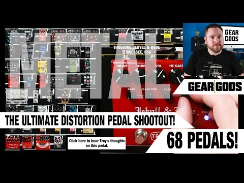 The Ultimate Metal Distortion Pedal Shootout! | GEAR GODS