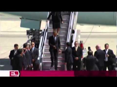 Obama llega a Toluca para Cumbre de Líderes del América del Norte_ Titulares de la tarde.mp4