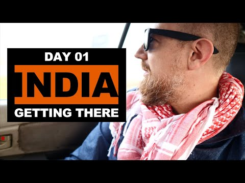 The Journey to India! 🇮🇳 Travel Vlog #1