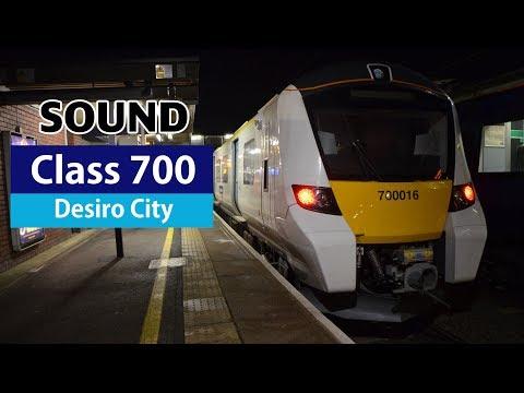 [Sound]Class 700//Siemens Desiro City//IGBT-(AC section)//Thameslink