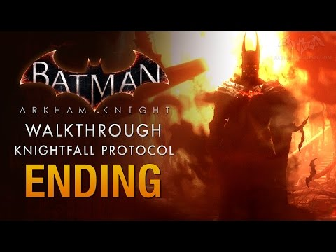 Batman: Arkham Knight Full Ending - The Knightfall Protocol