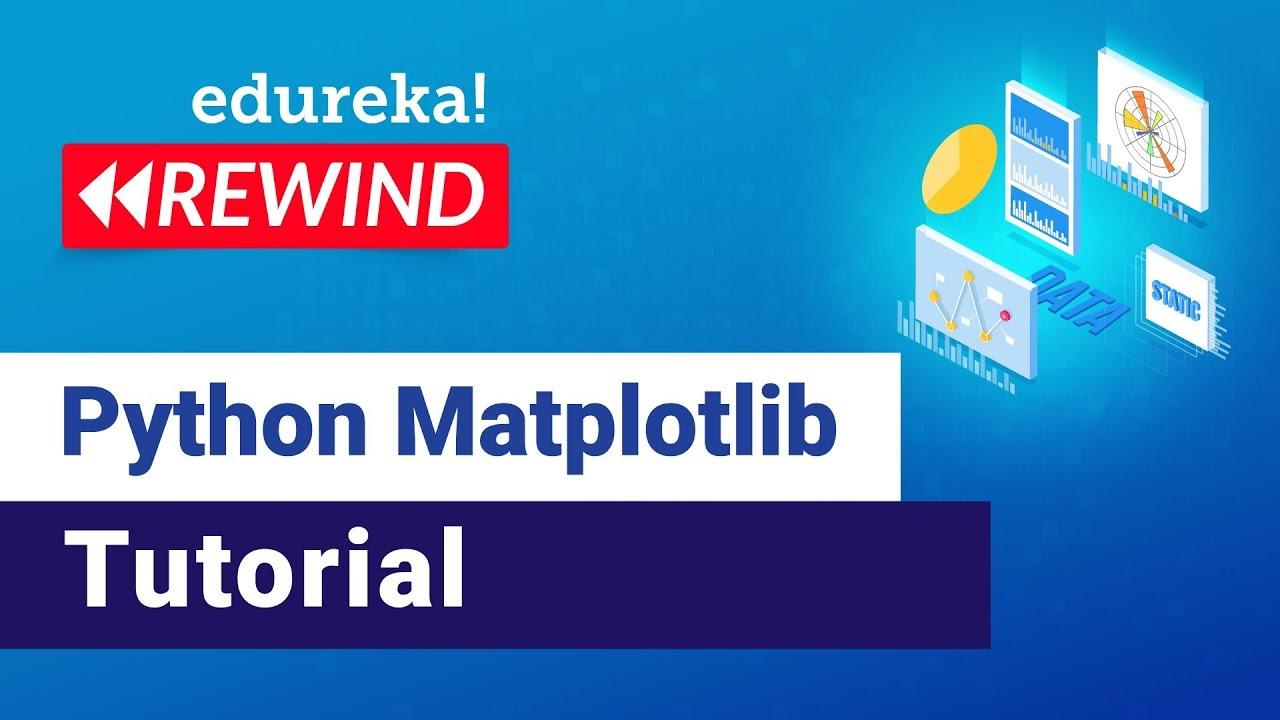 Introduction to Python Matplotlib | Matplotlib Tutorial For Beginners