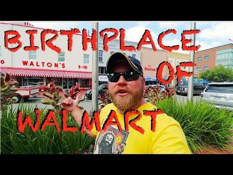 Birthplace of Walmart, Daisy Guns, & Popeye in Arkansas!