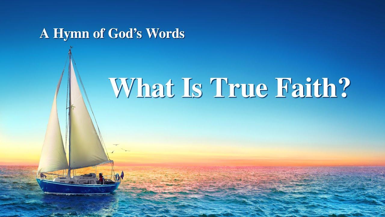 """What Is True Faith?""   New English Gospel Song With Lyrics"
