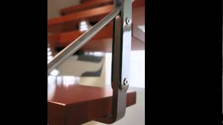Scala per interni dal design personalizzabile Rintal - Knock Design