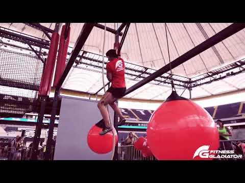 Fitness Gladiator on World Fitness Day in Frankfurt 2017