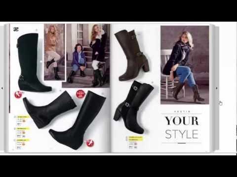 3b2c0b07 Catalogo Andrea botas otoño invierno 2015 : calzado cerrado - YouTube