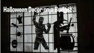 Halloween Decor On A Budget! Diy! Silhouettes!