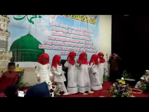 Gerak dan lagu Maulid tiba Tk Az-Zahra