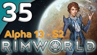 Rimworld Alpha 13 - 35. Farms & Fortification - Let's Play Rimworld Gameplay