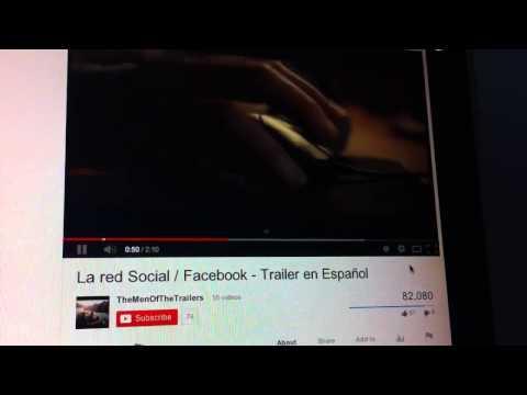 La Red Social: Tráiler En Español HD 1080P
