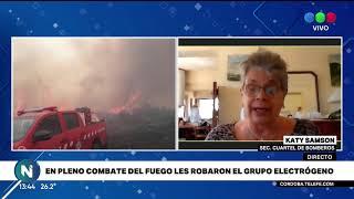 Indignante: les robaron el generador a los bomberos de La Cumbre