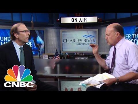 Battling Ebola: Charles River Labs | Mad Money | CNBC