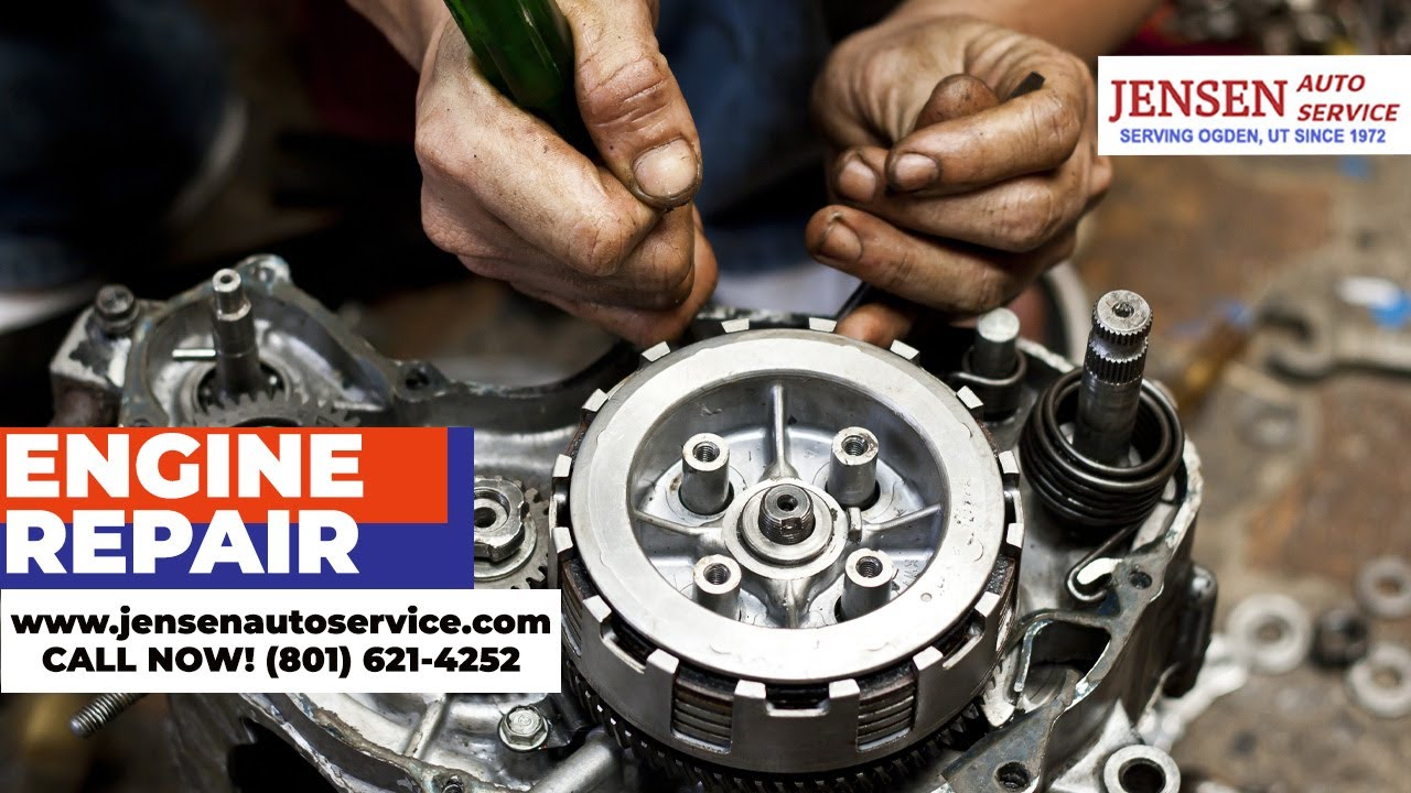 Engine Repair Near Me Give Us A Call Soon 801 621 4252 Jensen Auto Service Ogden Ut Youtube