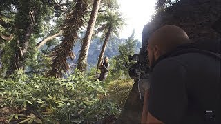 Ghost Recon Breakpoint - Stealth Kills - Outpost & Hideout Clearing Gameplay - PC RTX 2080 Showcase