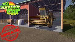 COMBINE HARVESTER - NEW FARMING JOBS - My Summer Car Update #35 | Radex