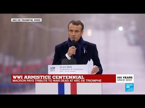 WWI armistice centennial: Macron