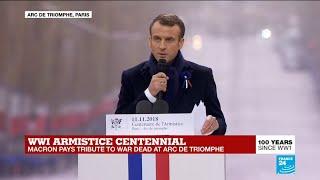 WWI armistice centennial: Macron's speech