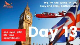 Shinji & Lucy Earthrounder Day 13- Shinji explained why he wanted to visit UK.