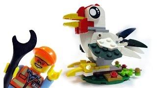 Legoman Build A Rooster Statue