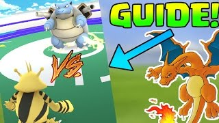 POKEMON GO: HOW TO BATTLE! : DODGE & SPECIAL ATTACKS