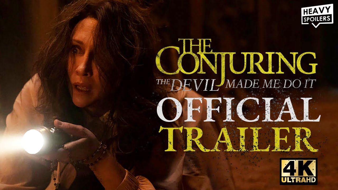 Download The Conjuring The Devil Made Me Do It (2021) Official Trailer 4k | Hbo Max Warner Bros
