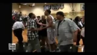 brawl at high school basketball game