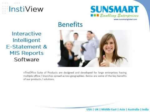 InstiView | Interactive, Intelligent E Statement and MIS Reports Software Dubai UAE
