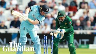 Cricket World Cup: Mohammad Hafeez and Eoin Morgan react after Pakistan stun England