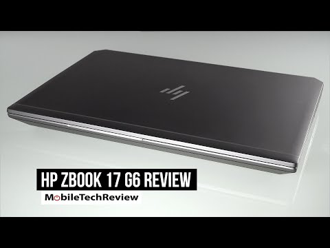 HP ZBook 17 G6 Review