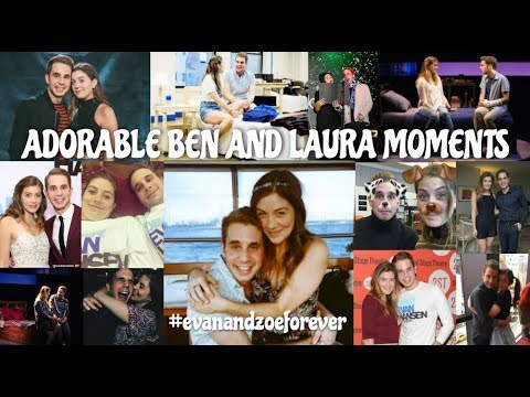 Ben Platt and Laura Dreyfuss Cute Moments  Evan and Zoe Forever DEAR EVAN HANSEN