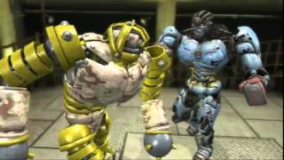 Real steel game(Живая сталь)-Амбуш уничтожает роботов #5