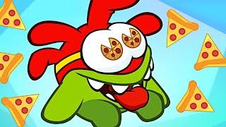 Best of Om Nom Stories: PIZZA TIME   Odd Food Pranks   Cartoons for Children by HooplaKidz TV