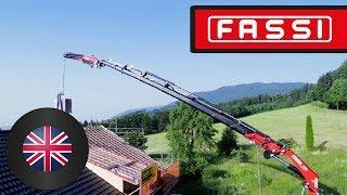 The new Fassi F990RA xhe-dynamic crane