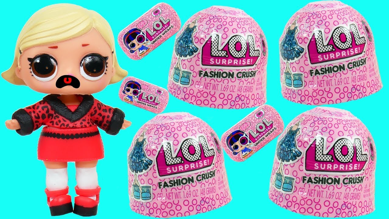 Lol Surprise Jelly Fashion Crush Dress Up Blind Bags