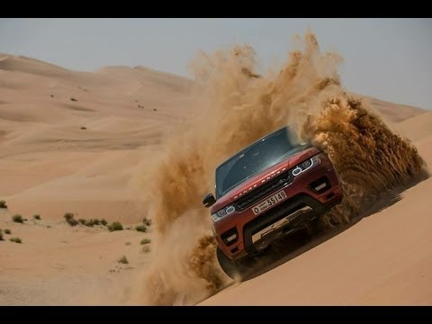 RANGE ROVER SPORT EXTREME OFFROAD at FULL THROTTLE
