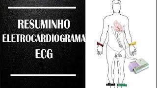 Resuminho ECG Eletrocardiograma Enfermagem Educacional