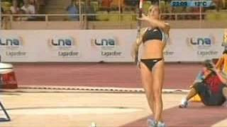 Isinbayeva salta 5.04 metros