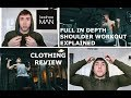 BOOHOO MEN'S CLOTHING HAUL & SHOULDER WORKOUT
