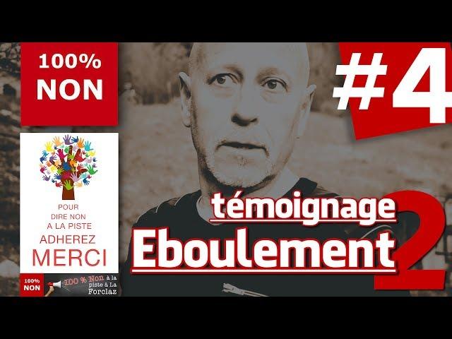 La #Forclaz : les habitants réagissent #4... témoignage éboulement 2