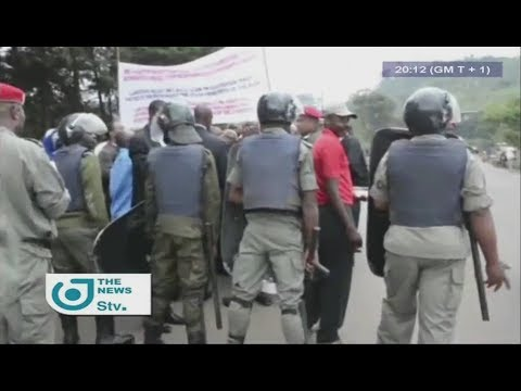 STV NEWS 08:00 PM - (BAMENDA : GHOST TOWN STILL RESPECTED) - 12th September 2017 - Veronica AJI