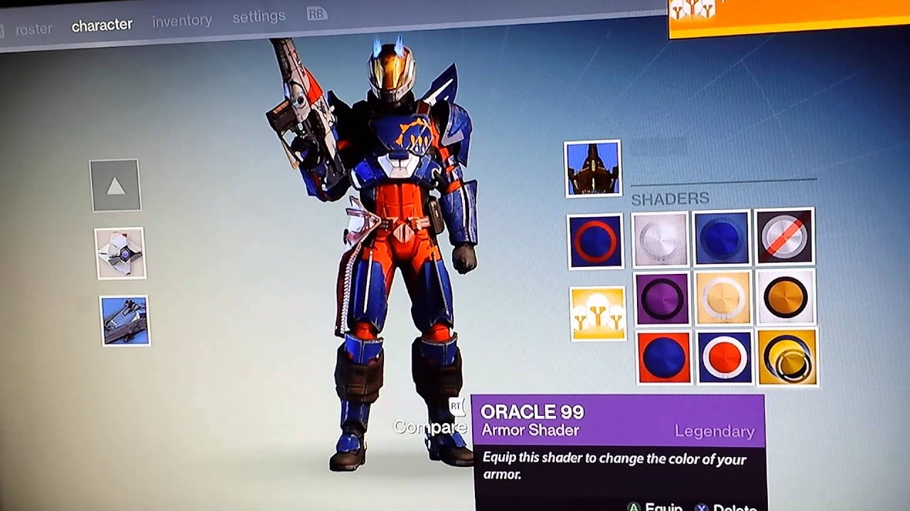 Destiny shaders and Halloween item - YouTube
