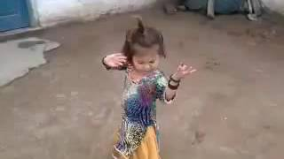 Free style dance by a poor village girl